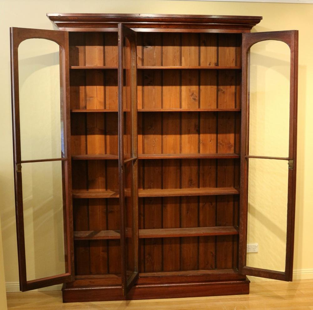 19th Century Australian Cedar Full Height Bookcase